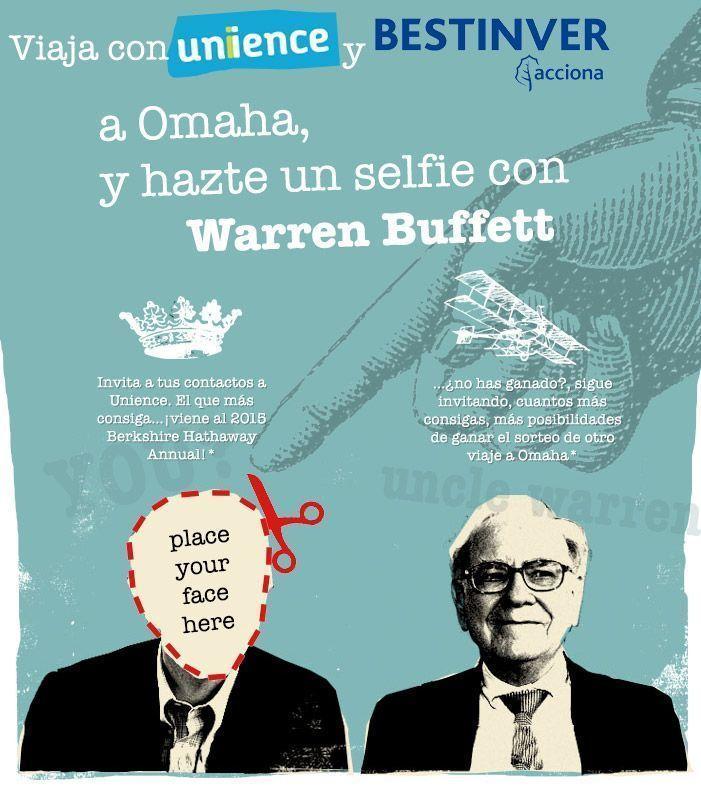 Ayúdame a cumplir mi sueño: <br />Viajar a Omaha y conocer a Warren Buffett en persona