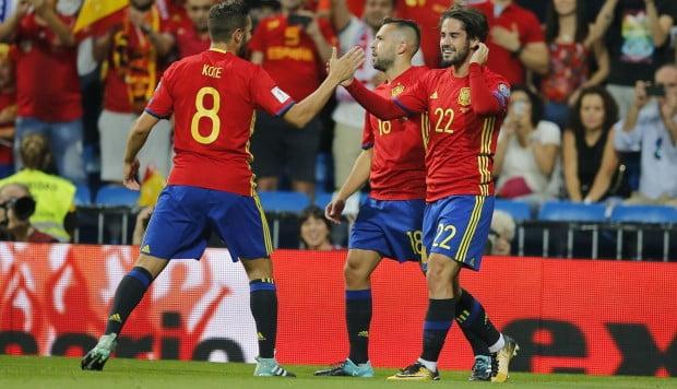 España 1 – Italia 0 (vídeo)