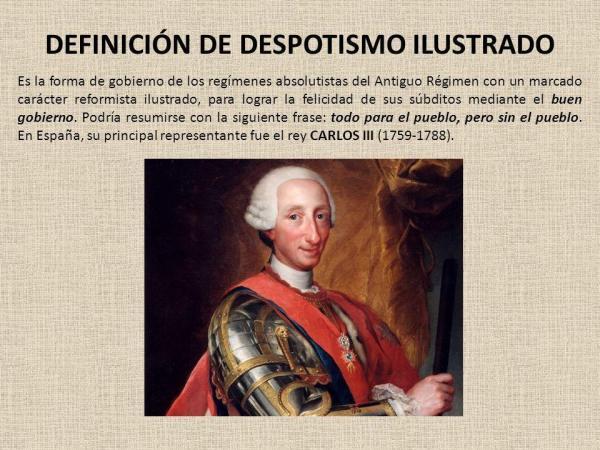 Qué es el Despotismo Ilustrado
