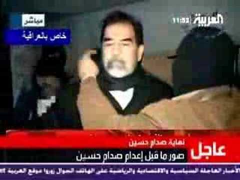 Vídeo íntegro de la ejecución de Sadam Husein