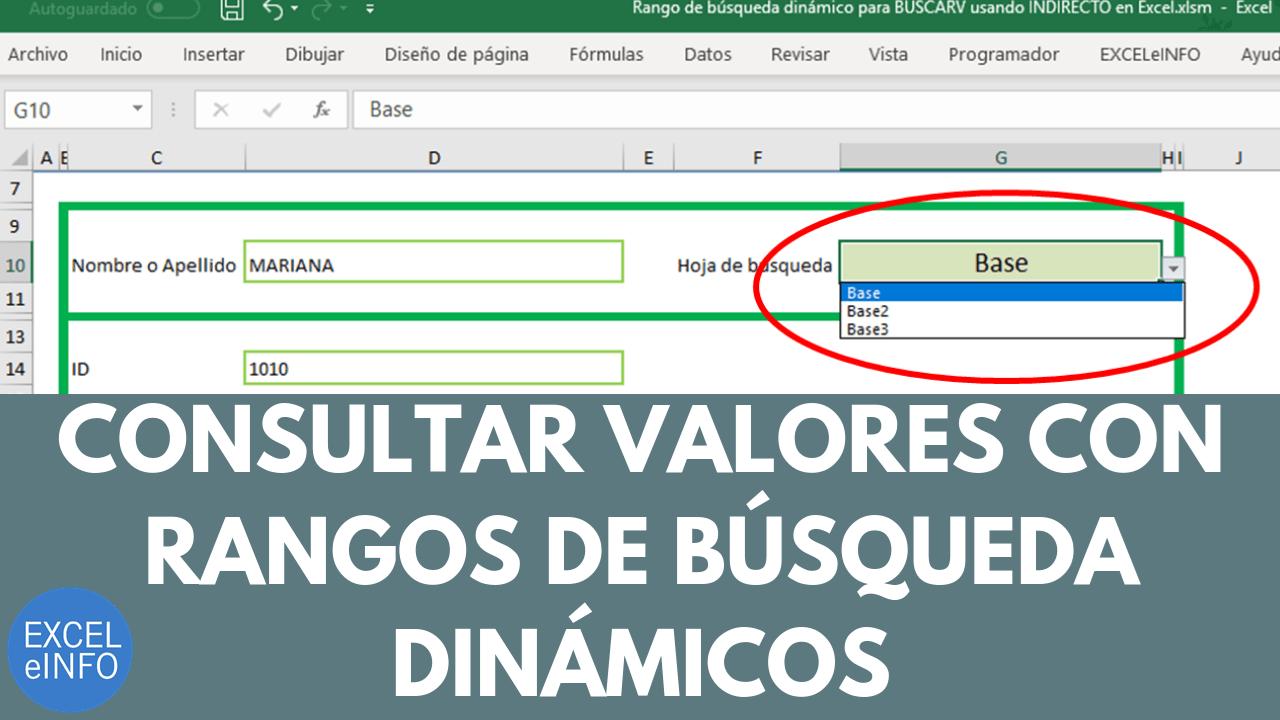 Automatización de las listas de validación de datos en Excel