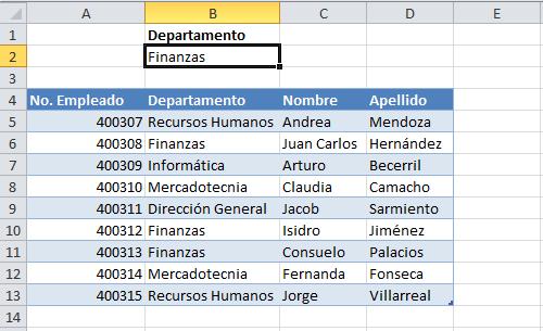 Casos de uso inusual de Excel