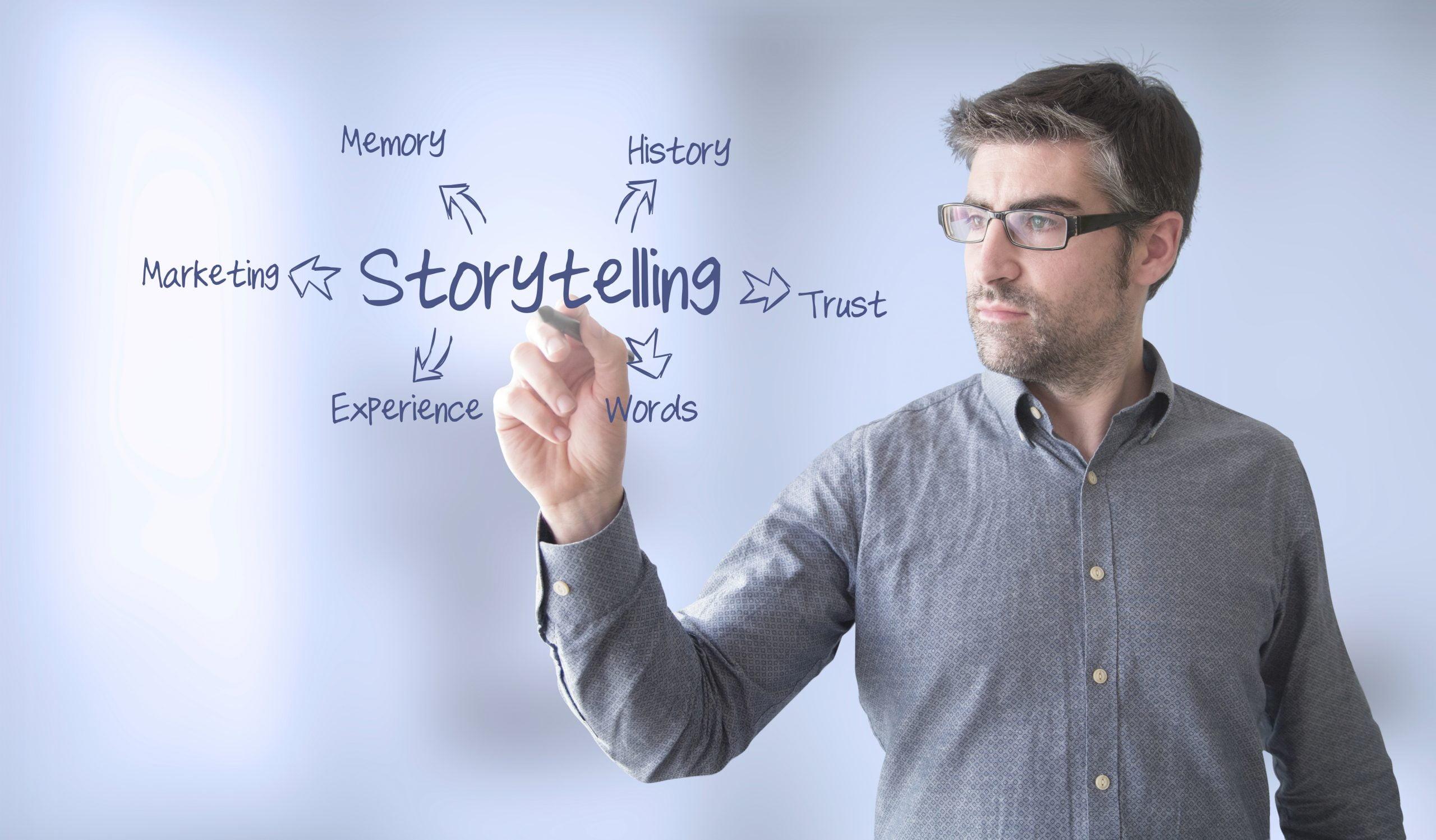 Cómo puede ayudar a los clientes a contar su historia