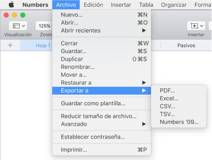 Copiar el formato de una hoja de cálculo de Excel a otra