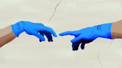 El apretón de manos secreto