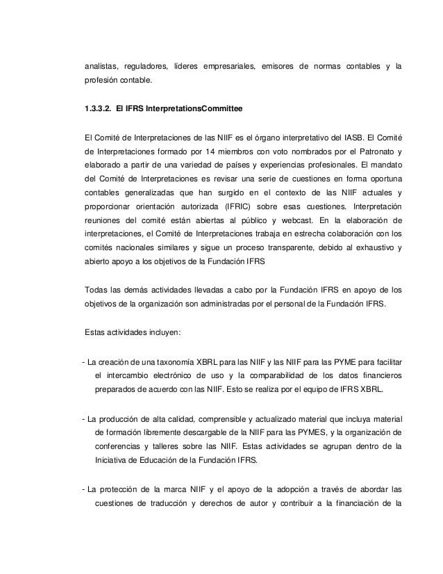 La Fundación NIIF mejorará la taxonomía de las NIIF para reflejar las prácticas comunes de presentación de informes