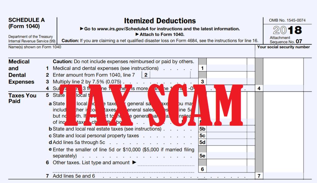 Latest Tax Scam: Ghost Tax Preparers