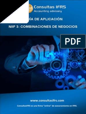 NIIF 3: Combinaciones de negocios