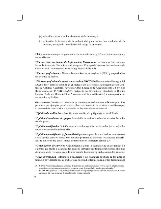 Normas de auditoría aclaradas: Auditorías de los estados financieros del Grupo – Parte 3