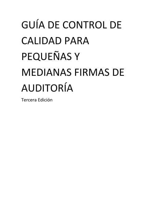 Normas de auditoría aclaradas: Representaciones escritas – Parte 2