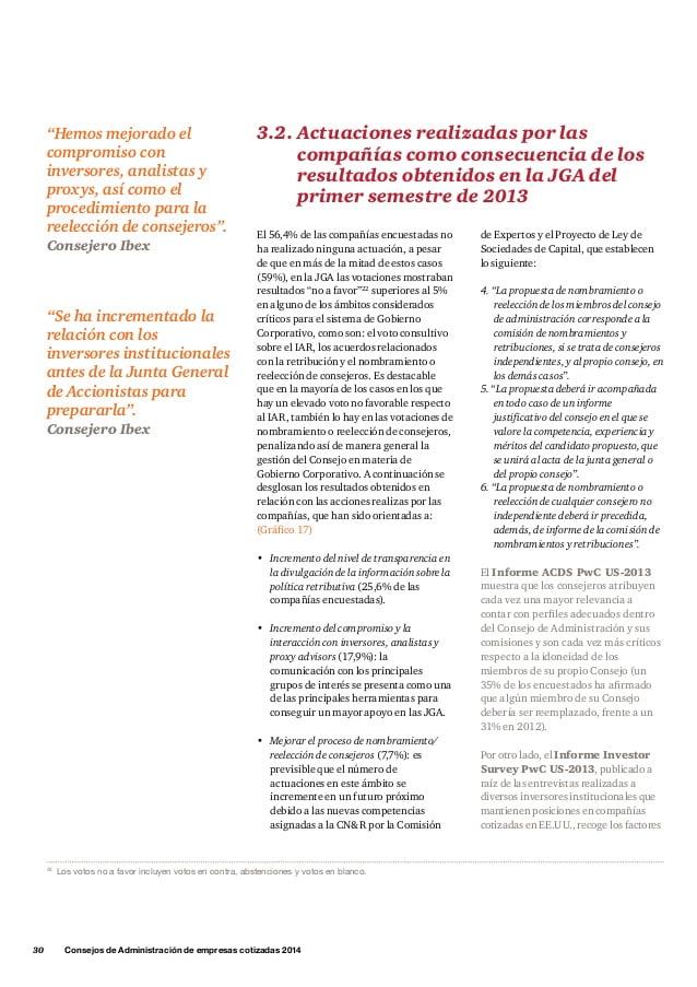 Nuevas directrices de aplicación propuestas por la JGA