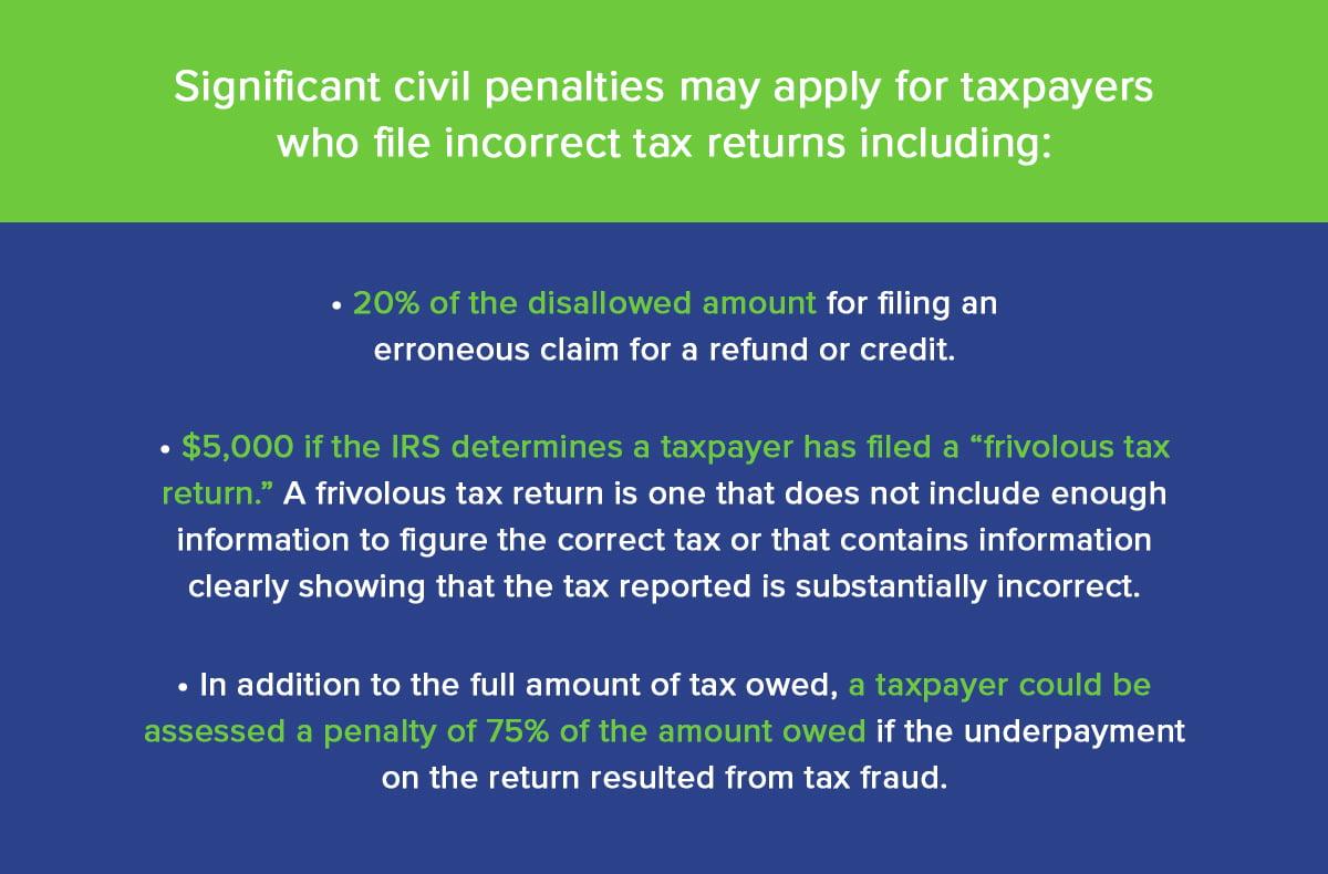 Por qué no puedes mentirle a un profesional de los impuestos