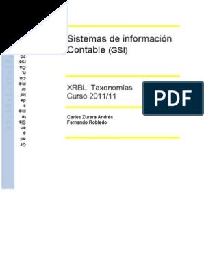 Se ha publicado el nuevo XBRL y la propuesta de taxonomía de informes financieros US GAAP para 2012