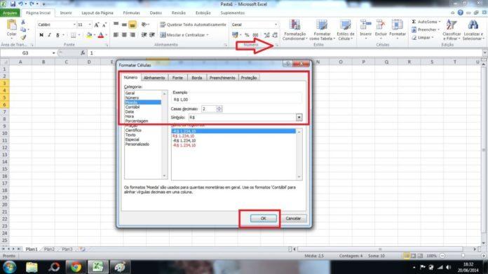 Visualización condicional de los decimales en Excel: Parte 3
